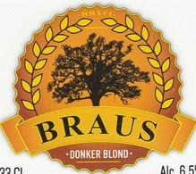 Etiket  Braus - Bière