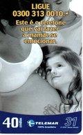 Femme Enceinte Télécarte Phonecard  (G 565) - Brésil