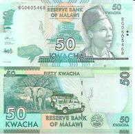 Malawi  New  50 Kwacha  2017  UNC - Malawi