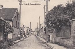 CPA BELLOY Rue De Vilaines - France