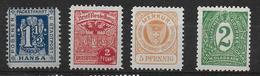 Deutsches Reich Stadtpost Privatpost Div - Privé