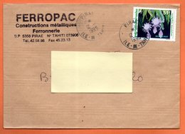 PIRAE     EPIPHYLLUM   1995 Lettre Entière N° OO 756 - Cartas