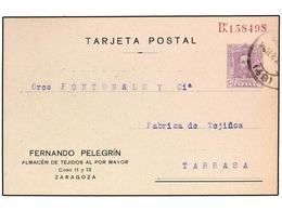 SPAIN POSTAL STATIONERY: PRIVATE COMPANIES - España