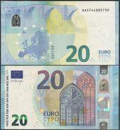 2015-NUEVO BILLETE DE 20 EUROS-SIN CIRCULAR-R008C2 - EURO