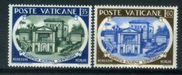 VATICAN ( POSTE ) : Y&T N°  245/246  TIMBRES  NEUFS  SANS  TRACE  DE  CHARNIERE . - Vatican