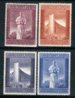 VATICAN ( POSTE ) : Y&T N°  257/260  TIMBRES  NEUFS  SANS  TRACE  DE  CHARNIERE , GOMME  BICOLORE . - Vatican