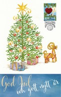 (D0997) Carte Noël Du Service Philatelique D' Aland 2018 - Noël