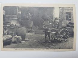 Carte Postale Ancienne Et Authentique (année 1921) Des Usines Vaucanson - Thiers