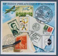 CNEP-2006-N°47** 60 Ième SALON D'AUTOMNE .Salon Philathélique De PARIS - CNEP