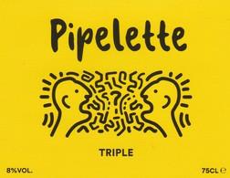 Etiket   Pipelette - Bière