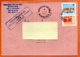 HAKAHAU UA POU MARQUISES   O.P.T.  1998 Lettre Entière N° OO 763 - Polynésie Française