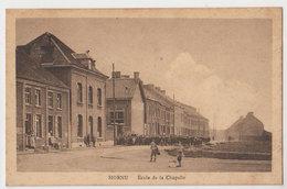 Cpa Boussu   écoles  1927 - Boussu