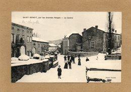 CPA - Environs De RAMBERVILLERS (88) - SAINT-BENOIT-la-CHIPOTTE - Aspect Du Centre Enneigé En 1912 - Francia