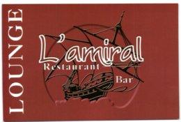 La Grande Motte - Bar - Restaurant L'Amiral - France