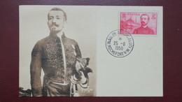 Carte Maximum France N° 353  Pierre Loti Inauguration Monument Loti Rochefort Sur Mer 1950 - Maximum Cards