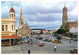 1 AK Südafrika * Die Stadt Grahamstown - Das Zentrum Der Stadt Mit Cathedral Of St. Michael And St. George - Südafrika