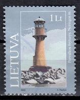 LT+ Litauen 2003 Mi 814 818 Leuchtturm, Observatorium - Lithuania