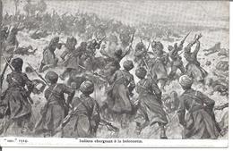 Indiens Chargeant à La Baïonnette - Guerre 1914-18