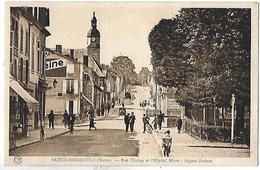 Sainte-Menehould. La Rue Florion , L'hopital Mixte Et Le Square Pasteur. - Sainte-Menehould