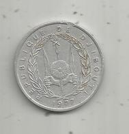 MONNAIE , 5 Francs , DJIBOUTI ,  1977,  2 Scans - Djibouti