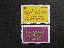 TB Paire N° 3636 Et N° 3637, Neufs XX. - France