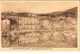 CPA - VILLEFRANCHE SUR MER - VUE GENERALE DU PORT DE PECHE - Villefranche-sur-Mer