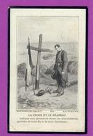 CANIVET  IMAGE PIEUSE LA CROIX ET LE DRAPEAU BOUASSE LEBEL 5204 MORT AU CHAMP D'HONNEUR 1929 GARANCIERES (27) - Images Religieuses