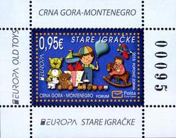 2015 EUROPA Stamps, Old Toys, Montenegro, MNH - Montenegro