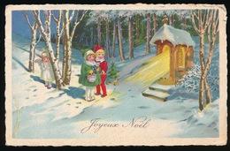 JOXEUX NOËL   KINDEREN  KAPEL ENGEL - Natale