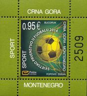 2014, FIFA Football World Cup, Brazil, Montenegro, MNH - Montenegro