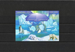 AZERBAIJAN 2009. Preserve Polar Region  INPERFORATE Blok - Azerbaïjan