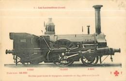 Cie OUEST ETAT - Machine Construite En 1844 Pour Trains De Voyageurs - Les Locomotives  , Ed. Fleury - 2 Scans - Equipment