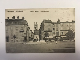 Riom - Fontaine Desaix - Riom