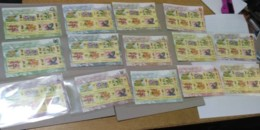 MALAYSIA 2018 WILD ORCHIDS Definitive State Series 14 MS Stamps Perf Complete Sarawak Borneo Sabah Penang Perlis - Malaysia (1964-...)
