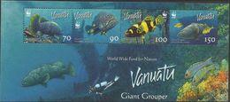 WWF - VANUATU  - FISHES  - 2006 - 8  V. - MNH  - MARINE LIFE - - W.W.F.