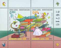 2010, EUROPA Stamps, Children's Books, Montenegro, MNH - Montenegro