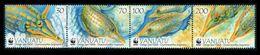 WWF - VANUATU  - FISHES  - 2013 - 4  V. - MNH  - MARINE LIFE - - W.W.F.