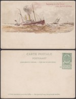Belgique 1910- EP 5C Vert - Carte Paquebot : Princesse Henriette (6G23184) DC0908 - Stamped Stationery