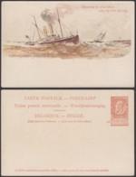 Belgique 1910- EP 10C Brun - Carte Paquebot : Léopold II  (6G23184) DC0912 - Stamped Stationery