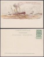 Belgique 1910- EP 5C Vert  - Carte Paquebot : La Flandre  (6G23184) DC0917 - Stamped Stationery