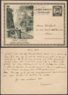 Belgique 1931- EP Képi Surchargé 35C Sur 30C+25C Vert : Bruxelles : Le Petit Sablon (6G23184) DC0928 - Stamped Stationery