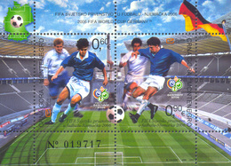 2006, World Cup 2006, Germany, Montenegro, MNH - Montenegro