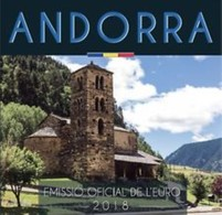 Andorra 2018   BU Met De 8 Munten Van 1ct Tot 2 Euro - Coffret Avec Les 8 Pièces De 1ct à 2 Euro    !! - Andorre