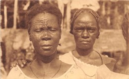 Congo -  Ethnic H / 128 - Tatouage De L' Equateur - Belgisch-Kongo - Sonstige