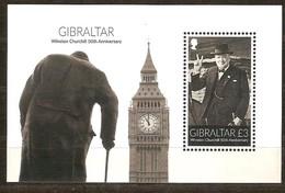 Gibraltar 2015 Micheln°  Bloc 119 *** MNH  50 Th Centenaire Winston Churchill - Gibraltar