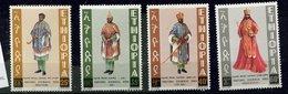 Ethiopie ** N° 709 à 713 - Costumes - Ethiopie