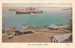 Aden / 31 - View Of The Harbour - Yémen