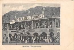 Aden / 36 - Hôtel De L' Europe - Yémen
