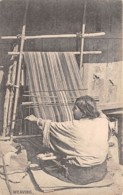 Buthan / 03 - A Bhutia Woman - Weaving - Bhutan