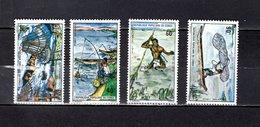 Congo   1975 .  Y&T  Nº   383/386   *   Sin Goma - República Democrática Del Congo (1964-71)